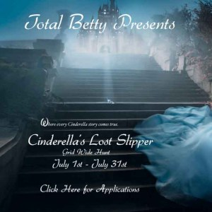 Cinderella's Lost Slipper Hunt Poster