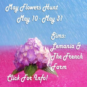 Lemania May Flowers Hunt Poster