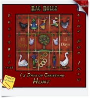 12 Days of Christmas Sign