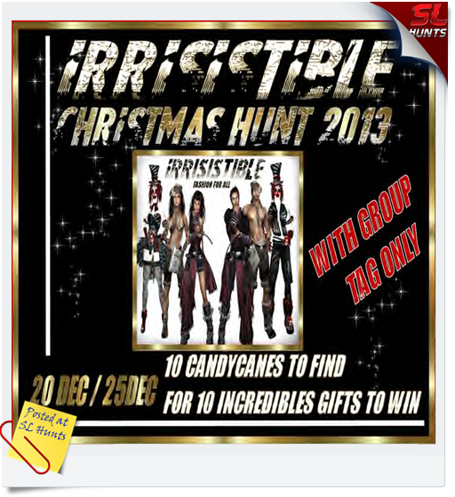 IRRISISTIBLE CHRISTMAS HUNT BOARDLOGO