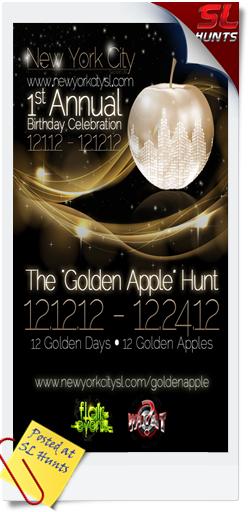 New-York-City-SL-Golden-Apple-1-Year-Anniversary-Hunt
