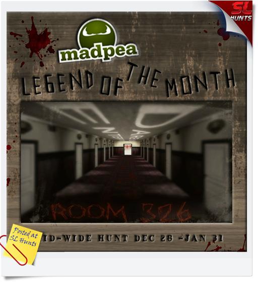 Room 326 Hunt Poster