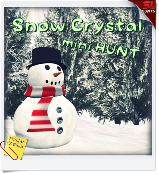 snow crystal hunt