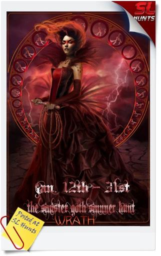 The Sinister Goth Sinner hunt Wrath