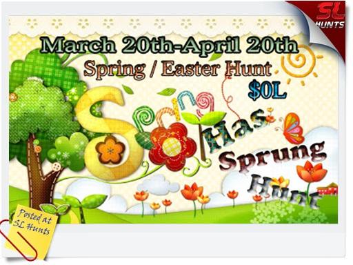 Spring Has Sprung Hunt