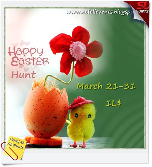 Happy Easter Hunt  logo