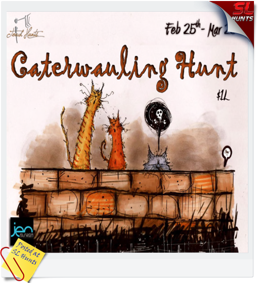 iTouch Hunts Caterwauling Hunt Poster