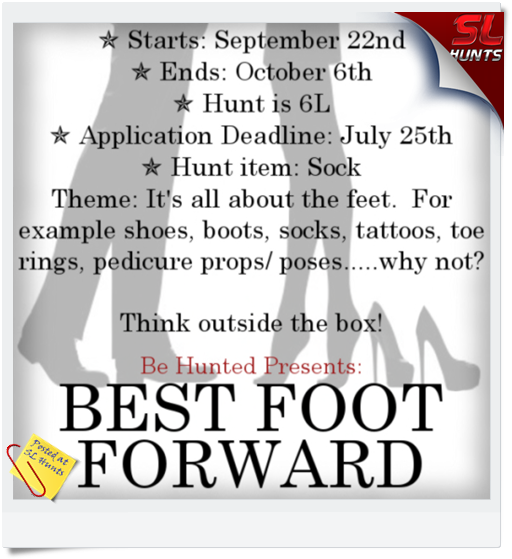 Sign - Best Foot Forward Hunt