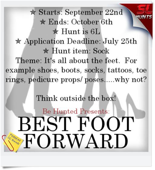 Sign - Best Foot Forward Hunt