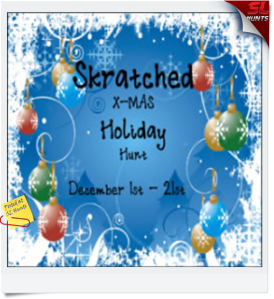 Scratched X-mus Holiday Hunt