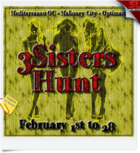 3Sisters Hunt Logo Sign