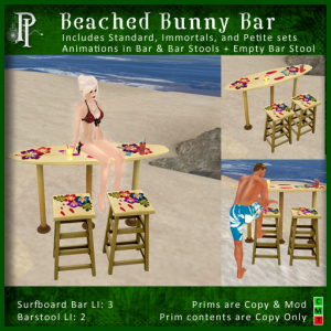 Beached Bunny Bar - Petite Plunder & Immortals Inspirations