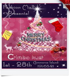 Crimbo Hunt Poster