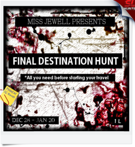 Final destination hunt pic - Cheryne Jewell