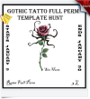 Gothic Tattoo Full Perm Hunt