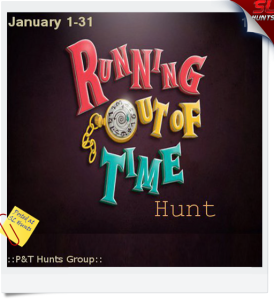 Running out of Time hunt Poster