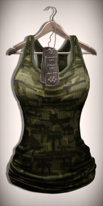 Xplosion TankTop Female (CamoGreen)