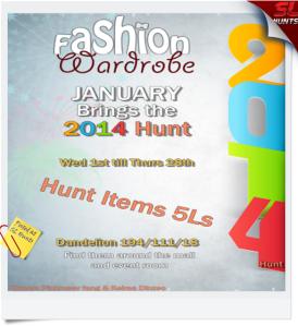 Hunt Poster 2014 Hunt