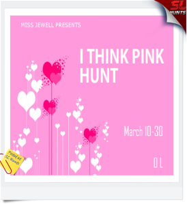 I think Pink Hunt Logo