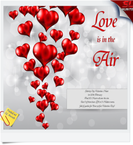 Love is in The Air - Slebrity CIty Valentine Hunt