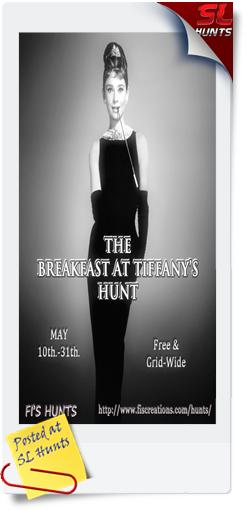 Fi's Hunts - The Breakfast at Tiffany's Hunt - Poster Image