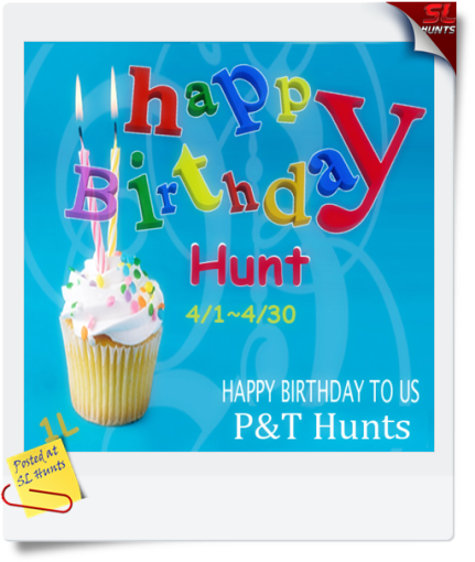 Happy Birthday Hunt Poster