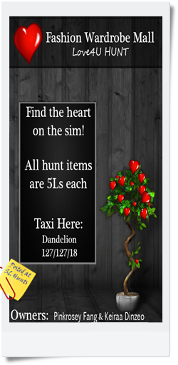 Love4U Hunt Poster