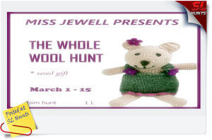 Whole Wool Hunt logo - Cheryne Jewell
