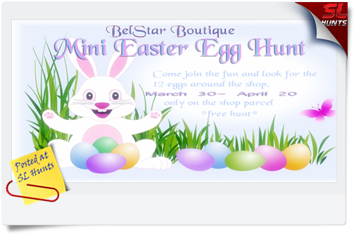 BelStar Boutique Easter Egg Hunt