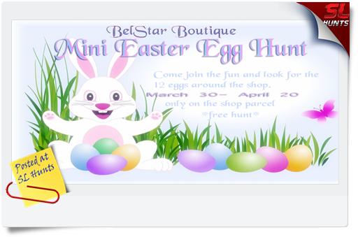 BelStar Boutique Easter Egg Hunt
