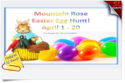 easter egg hunt ad
