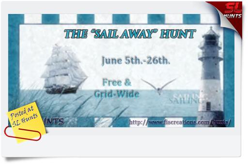 Fi's Hunts - The _Sail Away_ Hunt - Poster Image
