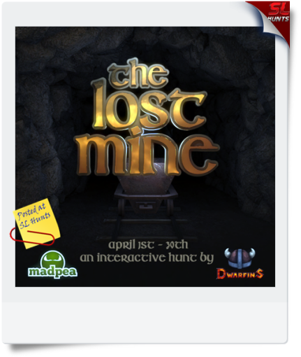 MadPea Productions and Dwarfins Present_ The Lost Mine (Poster)