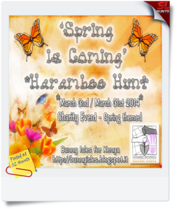 Spring is coming Hunt cover