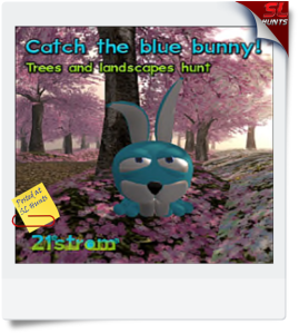 Catch the bhlue bunny hunt