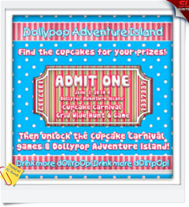 Cupcake Carnival and hunt