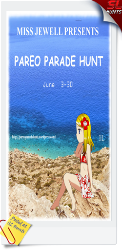 Pareo Parade hunt LOGO - Cheryne Jewell