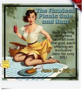 Flawless Picnic Sale & Hunt Poster - Kira Paderborn
