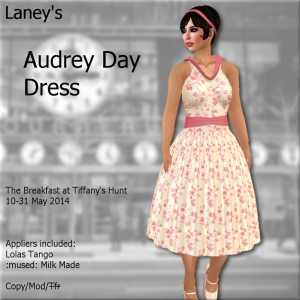 _L_ Audrey Day Dress Ad - The Breakfast at Tiffany's Hunt '14