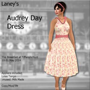 _L_ Audrey Day Dress Ad - The Breakfast at Tiffany's Hunt '14
