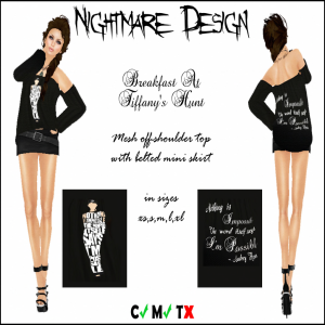 Nightmare Design - Breakfast At Tiffany's Hunt