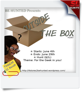 Outside The Box Hunt Poster