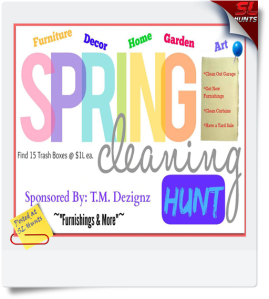 spring cleaning hunt
