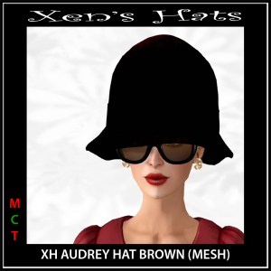 XH Audrey Hat Brown Photo