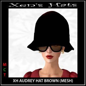 XH Audrey Hat Brown Photo