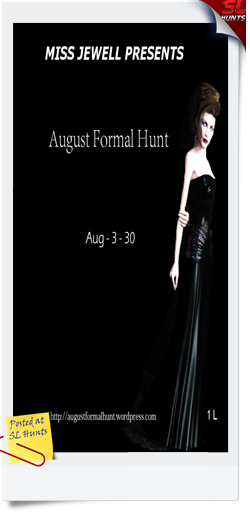 august formal hunt logo - Cheryne Jewell