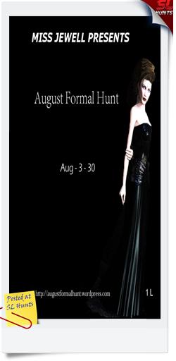 august formal hunt logo - Cheryne Jewell