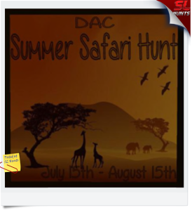 summer safari hunt
