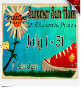 summer sun hunt poster 72pi