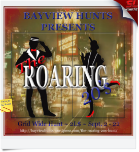 The ROARING 20's Hunt ad poster